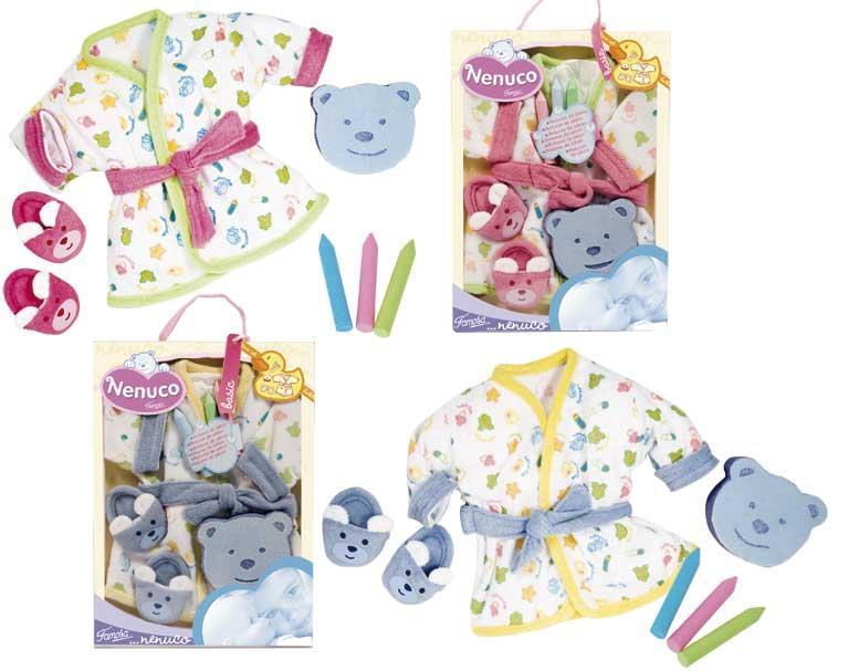Set De Baño Infantil:de 3 a 8 años set de baño nenuco todo lo necesario para secar a